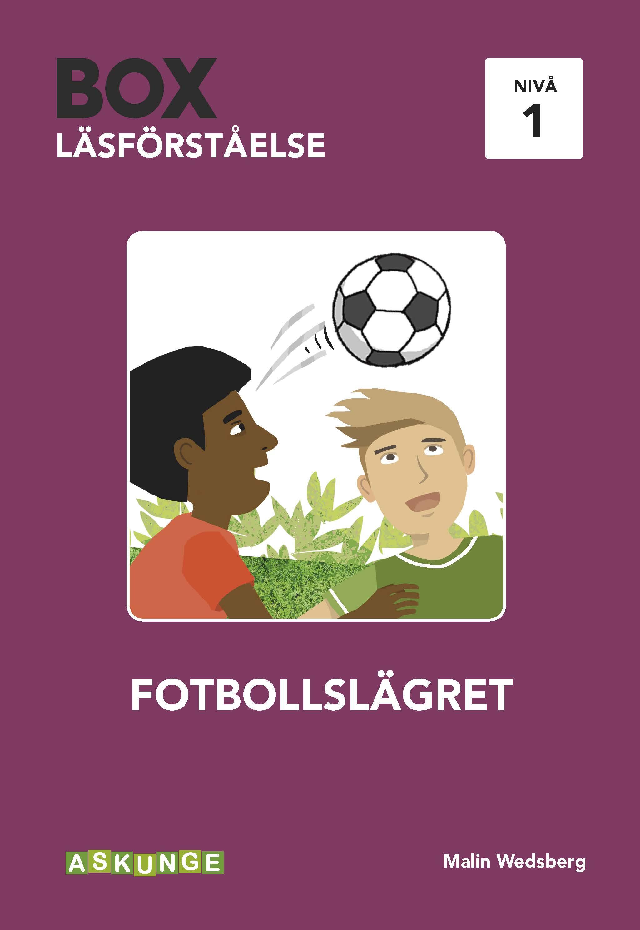 BOX Läsförståelse 1 Fotboll