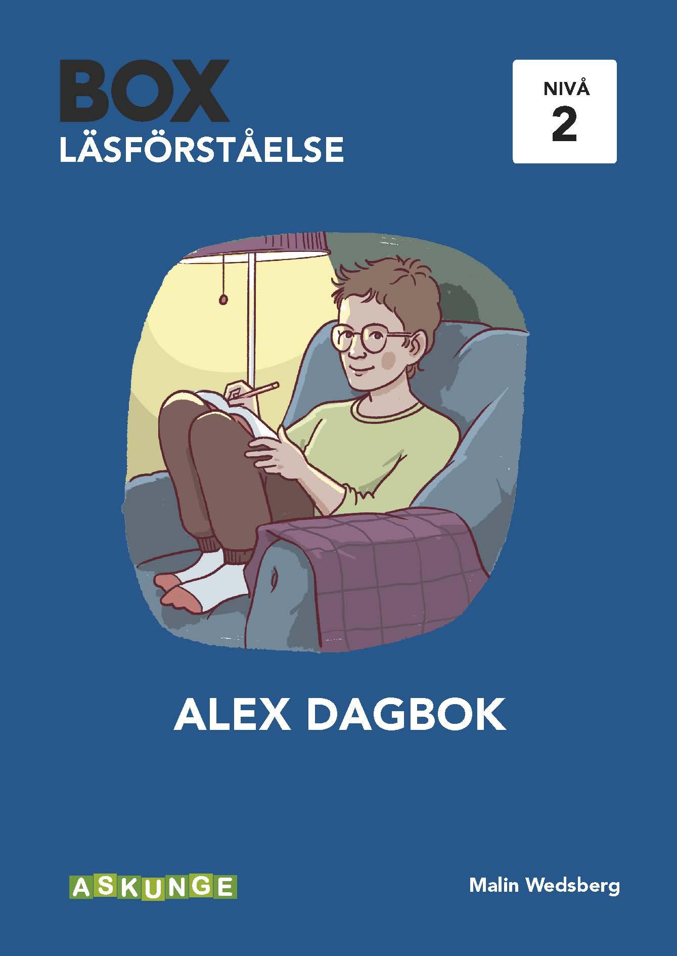 BOX Läsförståelse 2 Alex