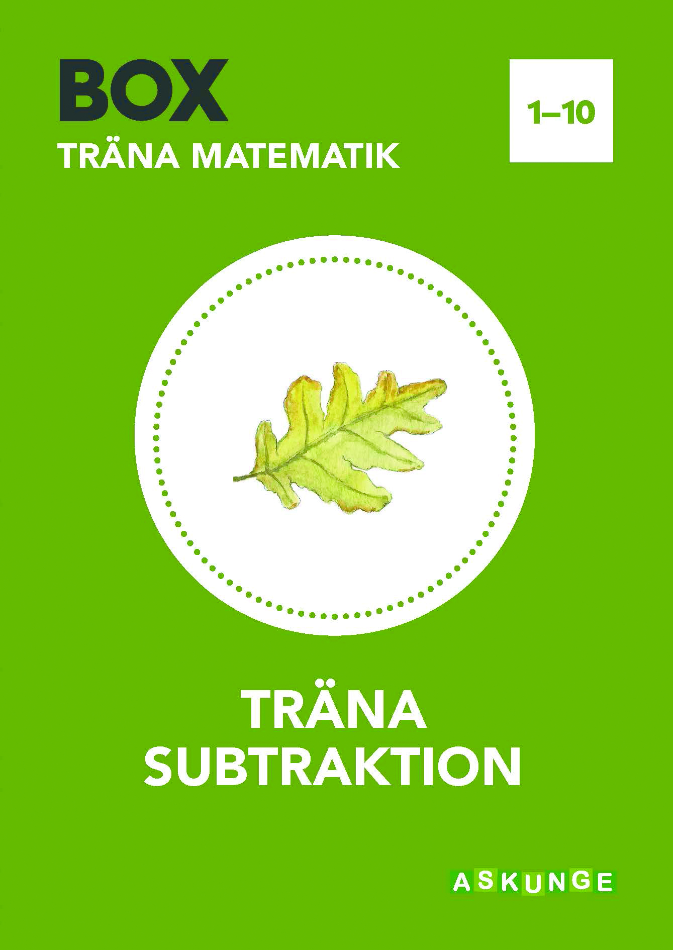 BOX Träna subtraktion 1-10