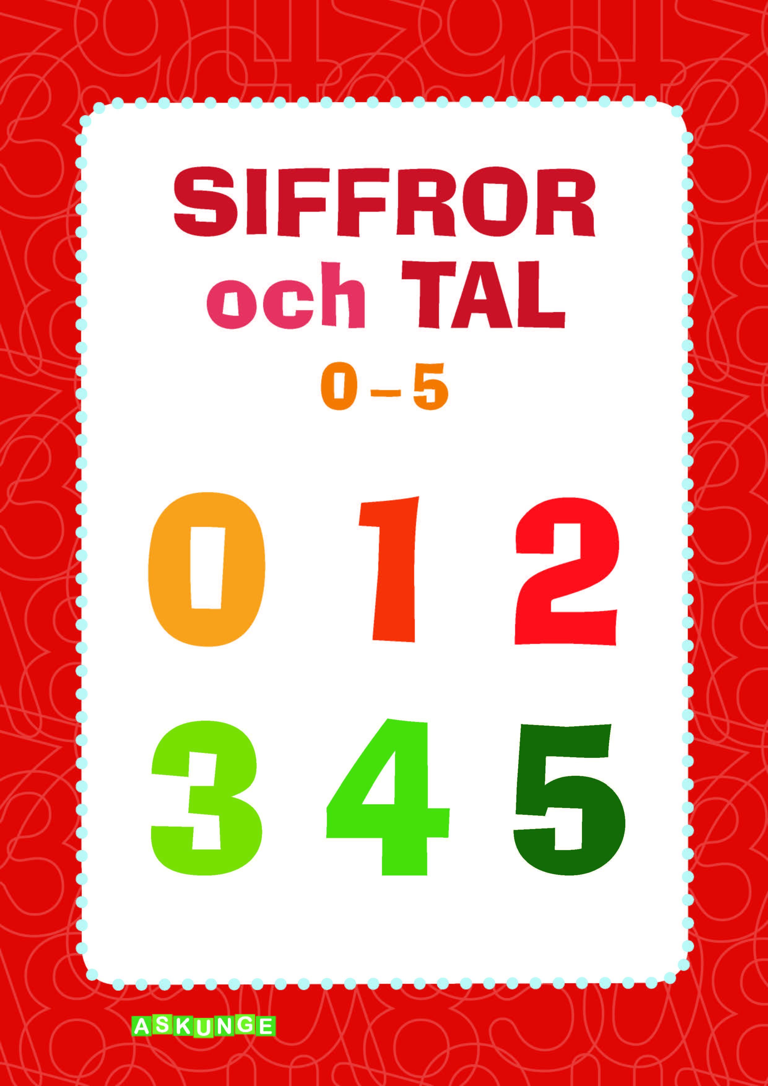 Siffror och tal 0-5