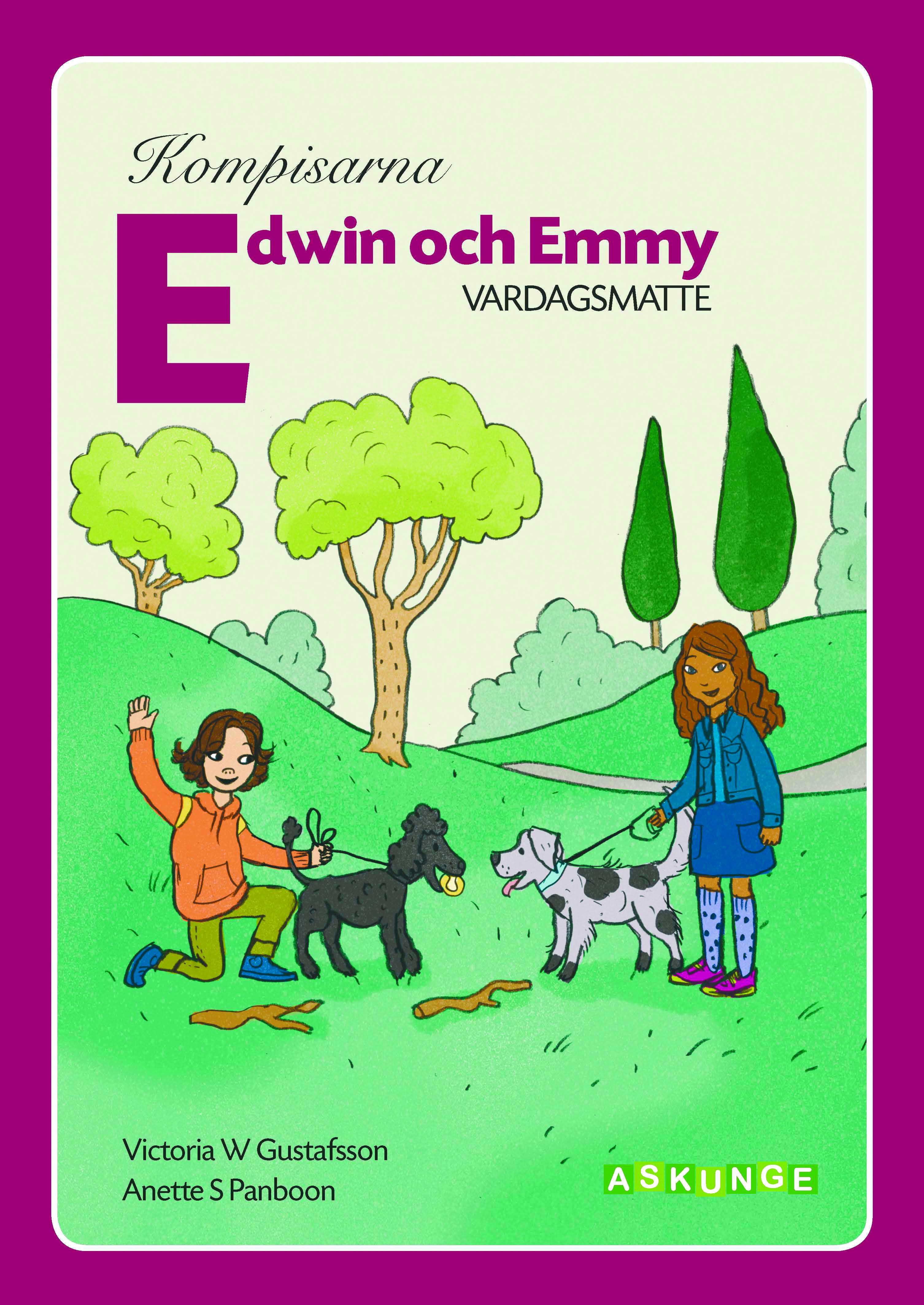 Edwin och Emmy omslag